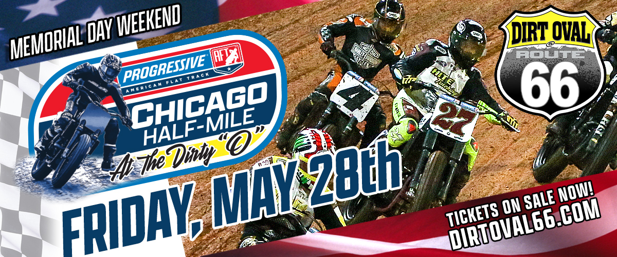 AFT American Flat Track Racing  CHICAGO HALF MILE