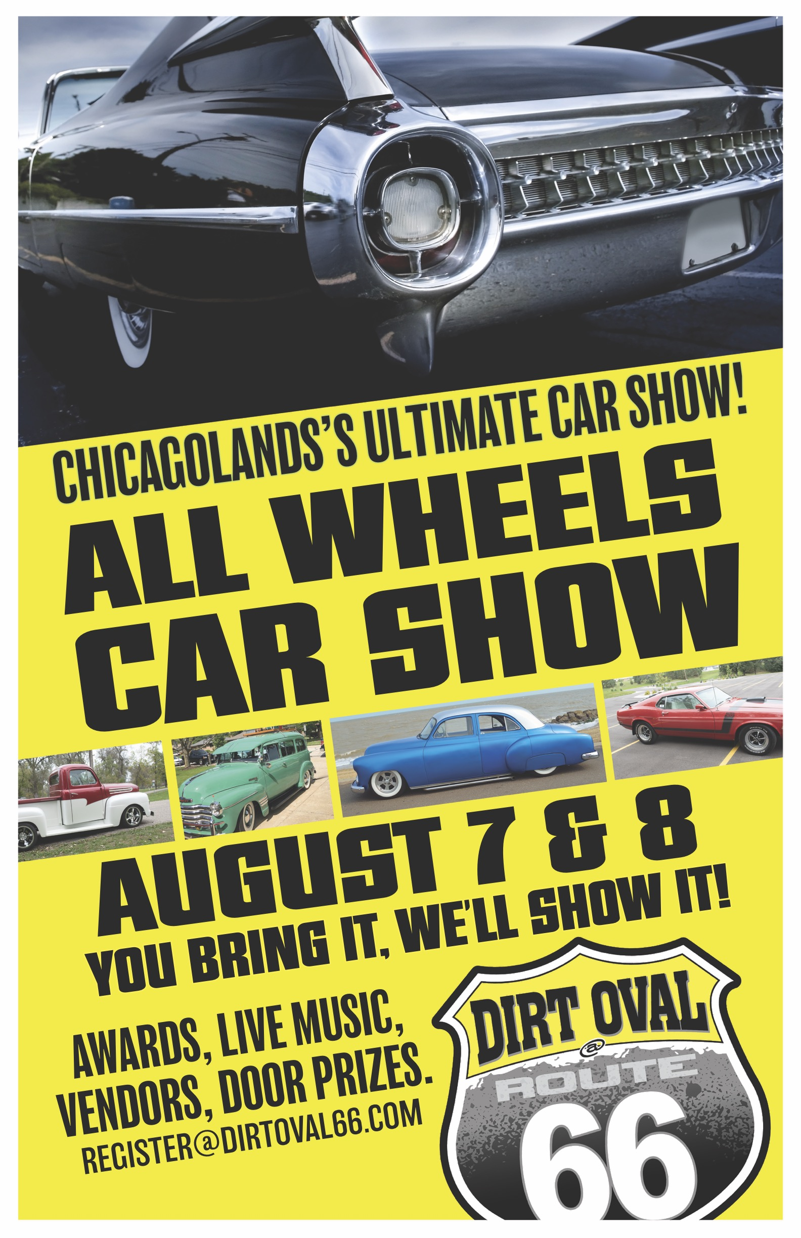 All Wheels. Chicagoland's ULTIMATE car Show!