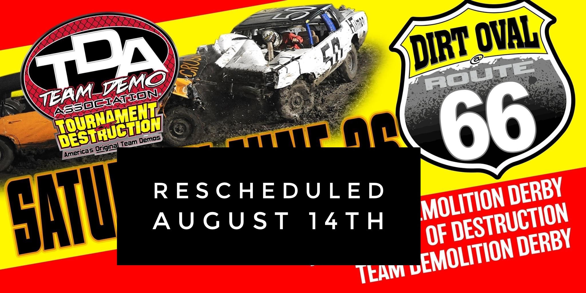 Team Demolition Derby our Salute to First Responders