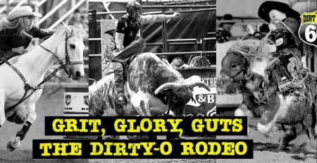 Grab your cowboy hat and boots and gear upfor the rodeo at Dirt Oval 66!